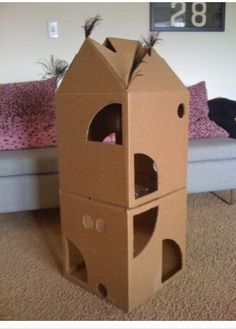 Cat Houses - 32 Pictures