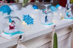 Tanya Memme's DIY Snow Globe Stocking Holder | Home & Family | Hallmark Channel