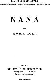 Nana (novel) - Wikipedia, the free encyclopedia