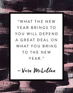 The New Year is bringing closure and my happiness.