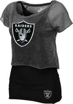 Oakland Raiders Women's Double Hit Top - Just bought this!!