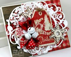 Where the Treetops Glisten Christmas Greeting Card | Polly's Paper