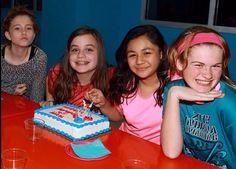 sadie, me, maddie, and olivia at maddies party:)