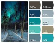 Chip It! by Sherwin-Williams – wyckedquilter Teal Bedroom Decor, Bedroom Turquoise, Bedroom Colors, Paint Color Combos, Paint Colors For Home, Colour Schemes, Wall Colors, House Colors, Mexican House