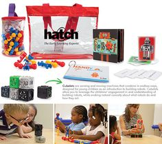 Hatch's HANDy Engineering Robotics STEM Kit with Cubelets. This kit addresses a combination of technology and engineering skills, specifically an introduction to robotics and other elements of STEM. Use promo code STEMSale2 for 15% off and Free Shipping (No Expiration Date)