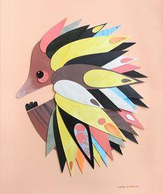 Australian Icons, Australian Animals, Australian Artists, 5th Grade Art, The Other Art Fair, Echidna, Animal Sketches, Indigenous Art, Art For Art Sake