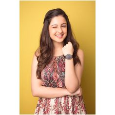 "With For ⌚ We love styling our outfits with watches. Use my code "" DWXTUNISHA "" to get a… Dehati Girl Photo, Girl Photo Poses, Girl Photography Poses, Girl Photos, Tunisha Sharma, Cute Couple Images, Child Actresses, Beautiful Girl Indian, Hair Color For Black Hair"