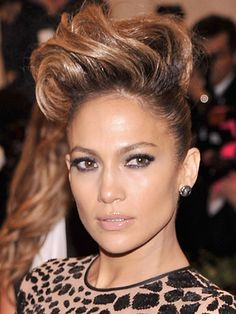 Jennifer Lopez at the Met Gala 2013