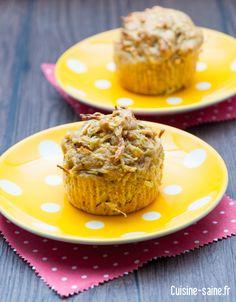 Recette sans gluten : muffin aux radis Muffins, Biscuits, Vegetarian Recipes, Gluten Free, Vegan, Breakfast, Cake, Food, Almond Milk