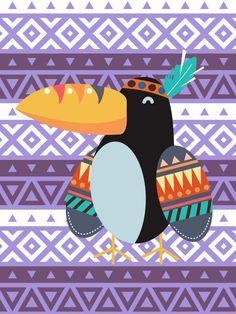 Poster - Tucaninho Tribal