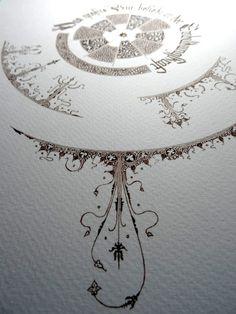 Anachropsy - Calligraphie latine par Benoit Furet - Le bien le plus grand...
