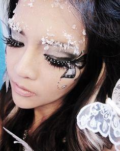 Fairy. Glitter. Makeup.