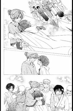 "Read Akatsuki no Yona Chapter 40 : The Morning Of Promise - Akatsuki no Yona Manga: Yona of the Dawn, known as Akatsuki no Yona in Japan. ""Yona of the Dawn"" , also called Akatsuki no Yona -The girl standing in the blush of morning-) is a Ja Read Akatsuki No Yona, Anime Akatsuki, Manga Pages, Anime Shows, Fujoshi, Manga To Read, Shoujo, Me Me Me Anime, Anime Manga"