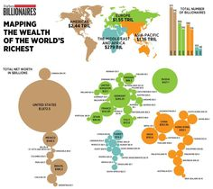 Mapping the wealth of the world's richest