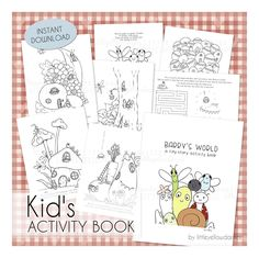 Coloring Pages For Kids, Activity Sheets, Coloring Book PDF, Kids Activities At Home, Printable Activities For Kids, Color Activities, Christmas Activities, Cartoon Coloring Pages, Printable Coloring Pages, Coloring Pages For Kids, Coloring Books, Activity Sheets For Kids