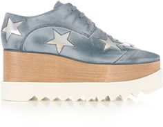 Shop Now - >  https://api.shopstyle.com/action/apiVisitRetailer?id=611117600&pid=2254&pid=uid6996-25233114-59 STELLA MCCARTNEY Elyse lace-up platform shoes  ...