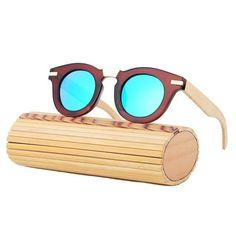 Wood Sunglasses Fashion Bamboo Sunglasses Women and Men Brand Designer