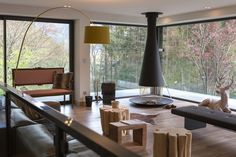 A renovation and addition for a chalet in France