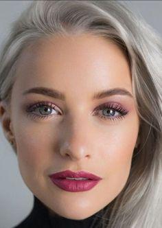 Silver Hair, Makeup Inspo, Eyes, Pretty, Beauty, Beautiful, Make Up, Silver, Beauty Illustration