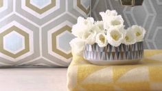 Trend Spotted: Geometric Patterns. Find fun ways to add them to your home with the help of BHG: http://www.youtube.com/watch?v=JqClwxB_LSM