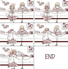 "there are many ways to say ""it's okay"" and ""i love you"" :D - shiina"