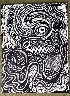 9x12 Original drawing with Sharpie on 140 lb. Mixed Media Paperpurchase does not transfer copyright©NicoleBishopp