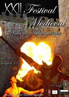 España Medieval: XXII FESTIVAL MEDIEVAL VILLA DE ALBURQUERQUE
