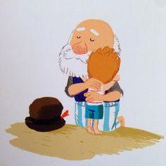 Benji Davies. Children's book illustrator. His website: http://www.benjidavies.com/blog/