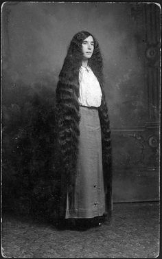 Photos of Victorian women and their long-ass hair | Dangerous Minds