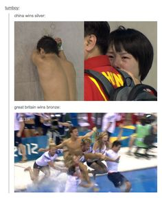 When they celebrated British enthusiasm at the Olympics. | 29 Times Tumblr Completely Got What It Means To Be British