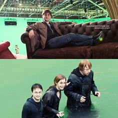 harry potter coulisse