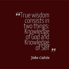 14 John Calvin Quotes