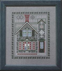 """Victorian House, хардангер , список нужных материалов / Вышивка / Игра """"Авантюра"""""""