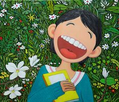 Lee soon koo , korean artist Korean Artist, Feel Good, Children, Kids, Oriental, Disney Characters, Fictional Characters, Character Design, Wallpaper