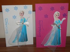 Elsa Eiskönigin/Frozen Einladung