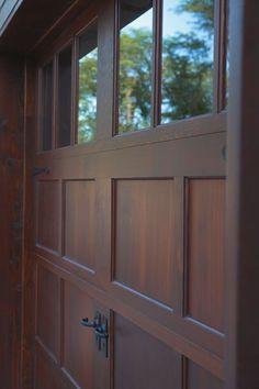 Garage door insulation cuts energy bills and street noise. Here's How To Insulate A Garage Door Faux Wood Garage Door, Garage Door Design, Modern Garage Doors, House, Garage, Diy Garage Door, House Doors, Garage Door Types, House Exterior