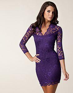 20 Best Wedding Images Purple Lace Dresses Fashion