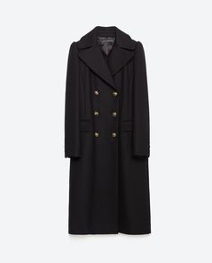 MILITARY STYLE COAT-Coats-Outerwear-WOMAN | ZARA United States