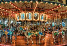 Santa Monica Carousel by David Morton, via Flickr