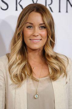 Haartrend karamellfarbene Spitzen: Ombré Hair