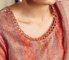 Chudidhar Designs, Churidhar Neck Designs, Salwar Neck Designs, Kurta Neck Design, Neck Designs For Suits, Sleeves Designs For Dresses, Neckline Designs, Designs Kurta, Punjabi Suit Neck Designs