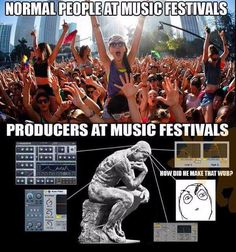 #Producers zooming in on the #vst's  #soundoracle #producermemes #producerhumor #producersbelike #producerlife Soundoracle.net