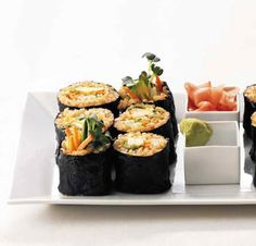 another brown rice veggie roll recipe