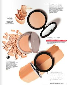Top 10 Foundations are compared. Check it out at dermstore.com/topten  #themagazine