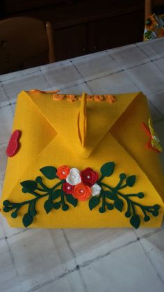Porta torta in feltro, by ricamo e oltre di valentina, 27,00 € su misshobby.com