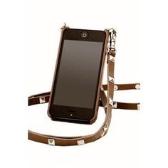 Personalized Gift Idea! Handsfree Bandolier iPhone Case with Initials!