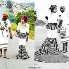 Latest 25 Traditional Xhosa Dresses Wedding For The Bride 2018 African Print Dress Designs, African Print Dresses, African Fashion Dresses, African Dress, African Outfits, African Clothes, African Prints, Traditional Wedding Attire, African Traditional Wedding