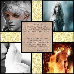SPOILERS heir of fire