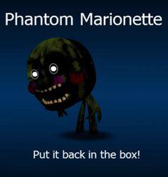 FNaF World Phantom Marionette!