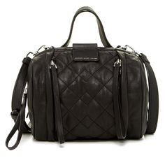 Marc By Marc Jacobs New! Mmj Small Moto Quilted Leather Barrel Convertible Satchel Black Cross Body Bag. Get the trendiest Cross Body Bag of the season! The Marc By Marc Jacobs New! Mmj Small Moto Quilted Leather Barrel Convertible Satchel Black Cross Body Bag is a top 10 member favorite on Tradesy. Save on yours before they are sold out!
